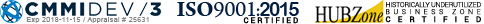 CMMI DEV 3, ISO 9001 2015